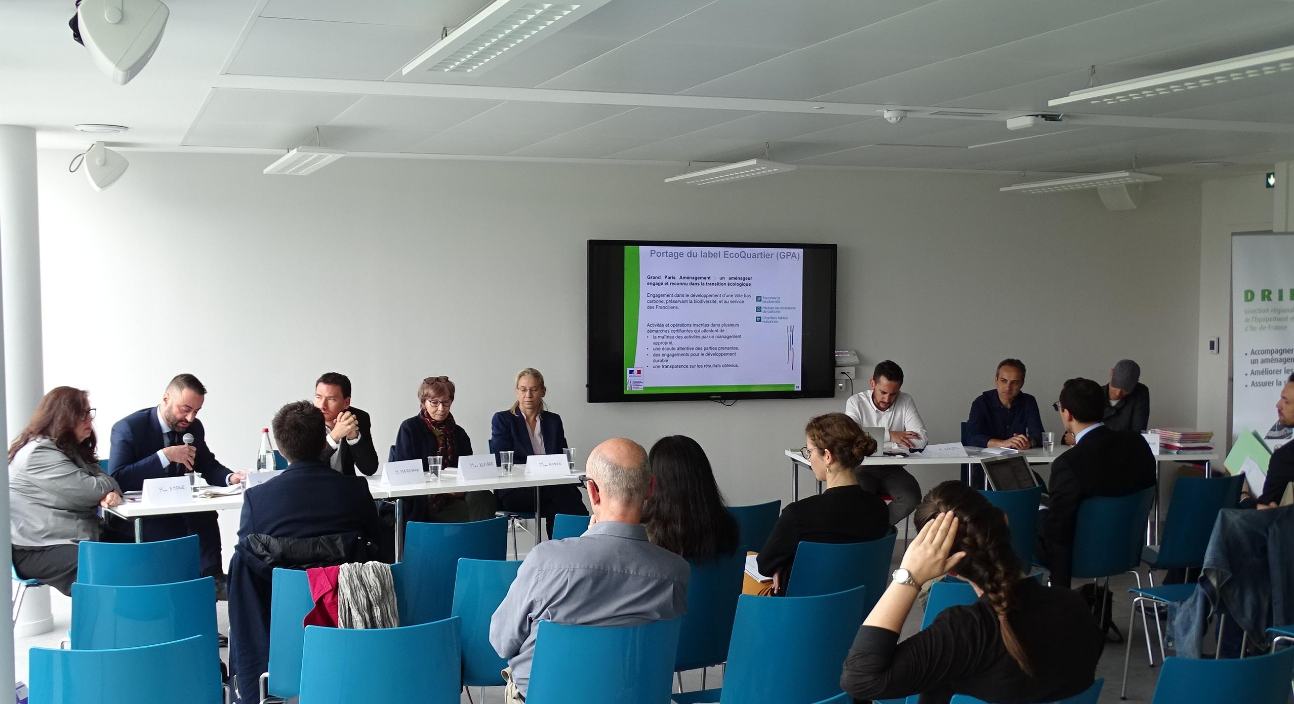 Semaine du Club EcoQuartier à Créteil : EcoQuartier et participation citoyenne en Val de Marne