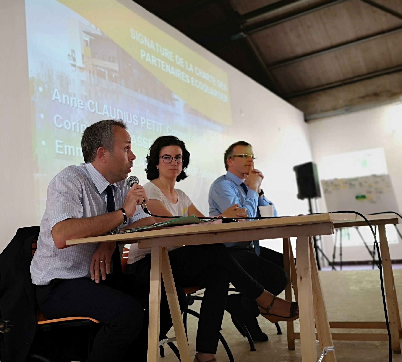 Signature de la première charte EcoQuartier régionale des partenaires en PACA